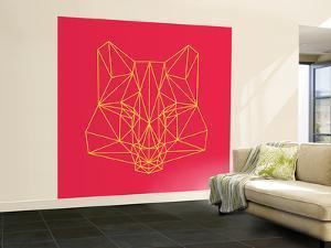 Fox on Red by Lisa Kroll