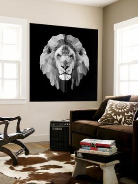 Lion Head by Lisa Kroll