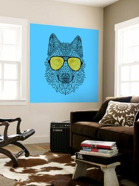 Woolf in Yellow Glasses by Lisa Kroll