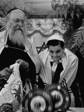 Carl Jay Bodek During Hebrew Ceremony with Rabbi David S. Novoseller by Lisa Larsen