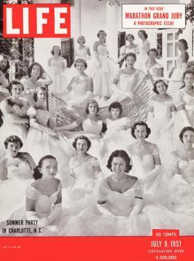 Summer Party, Charlotte, North Carolina, July 9, 1951 by Lisa Larsen