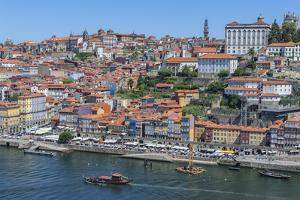 Europe, Portugal, Oporto, Douro River, Rabelo Ferry Boat by Lisa S. Engelbrecht