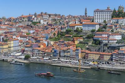 Europe, Portugal, Oporto, Douro River, Rabelo Ferry Boat