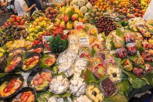 Europe, Spain, Barcelona, St. Josep La Boqueria, Food Market, Fruit by Lisa S. Engelbrecht