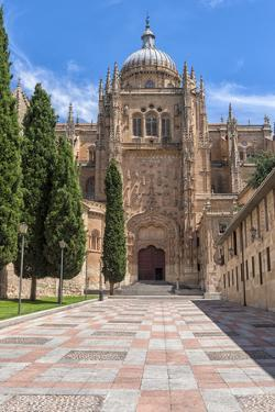Europe, Spain, Salamanca, Cathedral Exterior by Lisa S. Engelbrecht