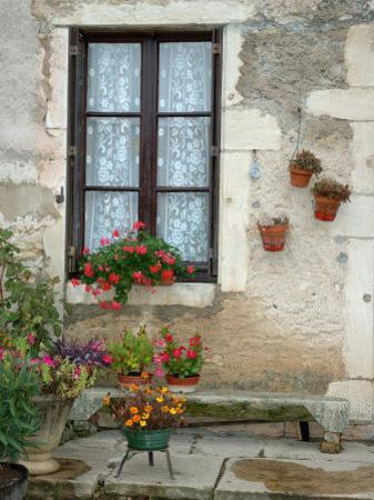 Flowers of Private Home, Burgundy, France