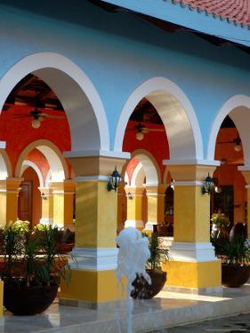 Lobby of Iberostar Resort, Mayan Riviera, Mexico by Lisa S. Engelbrecht