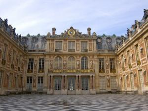 Marble Courtyard, Versailles, France by Lisa S. Engelbrecht