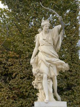 Marble Statue in Gardens, Versailles, France by Lisa S. Engelbrecht