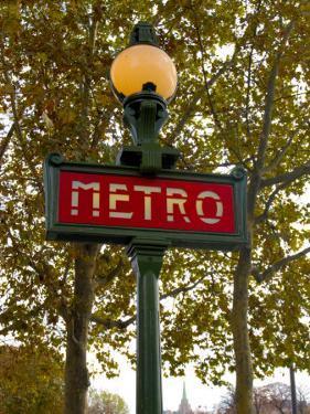 Metro, Paris, France by Lisa S. Engelbrecht