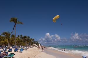 Parasailing, Bavaro, Higuey, Punta Cana, Dominican Republic by Lisa S. Engelbrecht