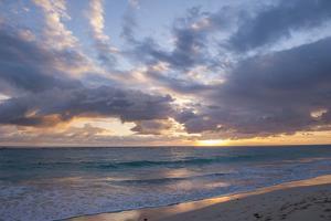 Sunrise, Bavaro Beach, Higuey, Punta Cana, Dominican Republic by Lisa S Engelbrecht