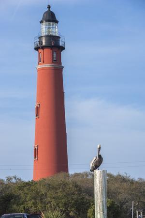 USA, Florida, Ponce Inlet, Ponce de Leon Inlet lighthouse.