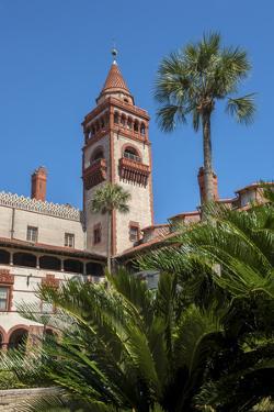 USA, Florida, St. Augustine, Hotel Ponce de Leon, Flagler College. by Lisa S. Engelbrecht
