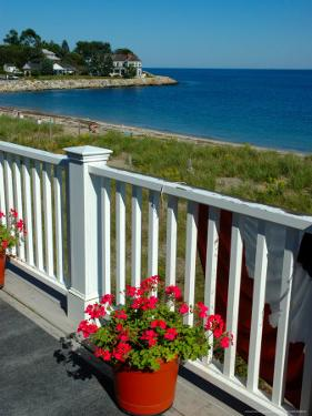 View from Beach House, Scituate, Massachusetts by Lisa S^ Engelbrecht