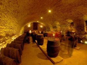 Wine Cellar of Chateau de Pierreclos, Burgundy, France by Lisa S. Engelbrecht