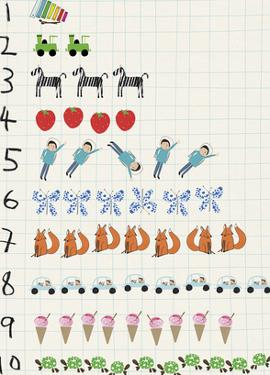 Nifty Numbers - Count by Lisa Stickley
