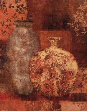Patterned Urn I by Lisa Ven Vertloh