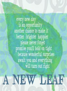 A New Leaf by Lisa Weedn