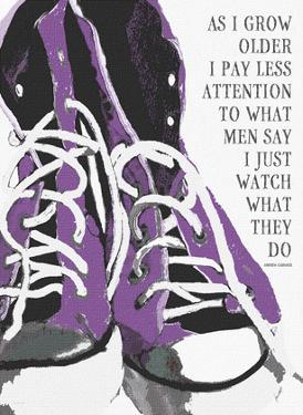 As I Grow Older (Purple) by Lisa Weedn