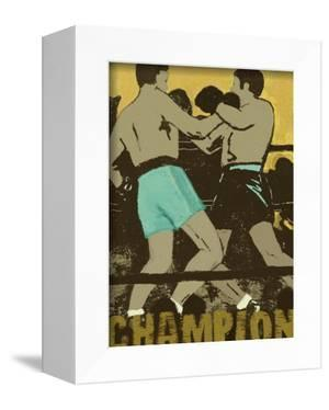 Champion Boxers in the Ring by Lisa Weedn