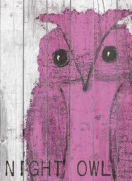 Night Owl Pink by Lisa Weedn