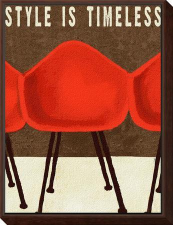 Style is Timeless Midcentury Chairs by Lisa Weedn