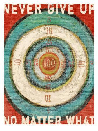 Vintage Dartboard Bullseye