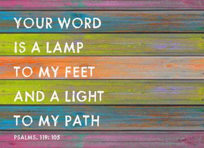 Your Word is a Lamp by Lisa Weedn