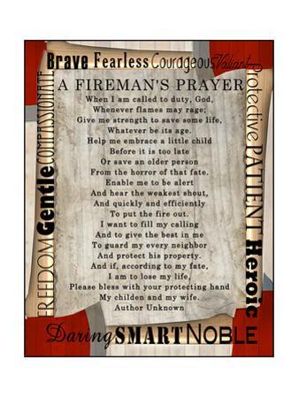 Firefighter's Prayer by Lisa Wolk