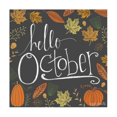 Hello October by Lisa Wolk