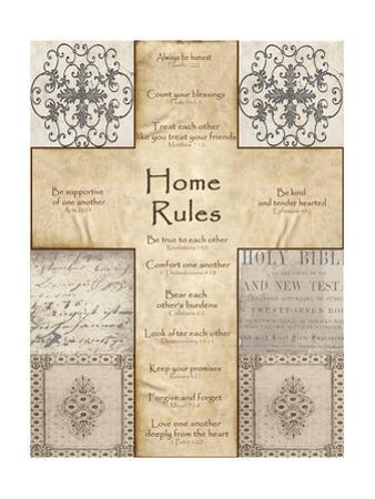Home Rules Cross by Lisa Wolk