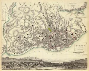 Lisbon, Portugal, c.1833
