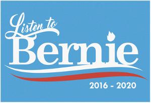 Listen To Bernie, 2016-2020 - Baby Blue