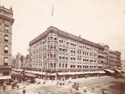 Lit Brothers, Market Street at 8th, Northeast Corner, 1898