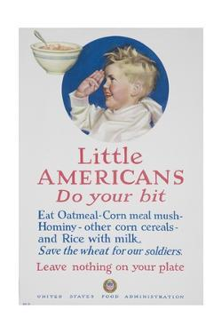 Little Americans Do Your Bit Poster