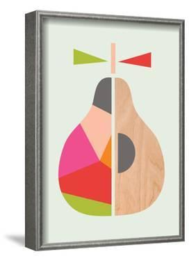 Geometric Pear by Little Design Haus