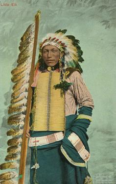 Little Elk, Plains Indian