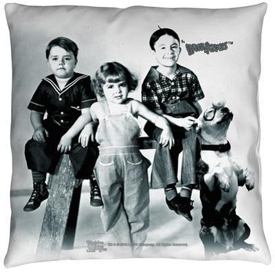Little Rascals - The Gang Throw Pillow