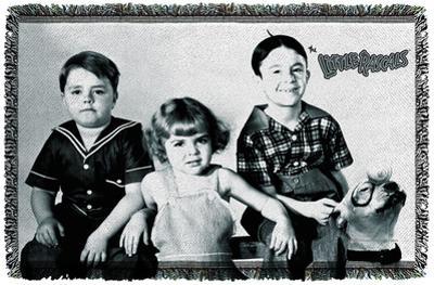 Little Rascals - The Gang - Woven Throw