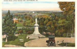 Little Round Top, Gettysburg, Pennsylvania
