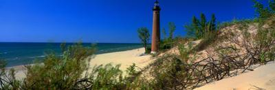 Little Sable Point Lighthouse, Pentwater, Michigan, USA