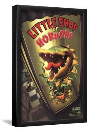 Little Shop Of Horrors - Broadway Poster