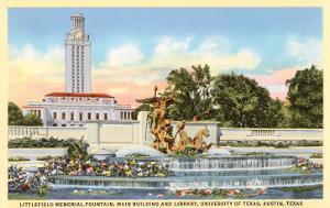 Littlefield Fountain, University of Texas, Austin