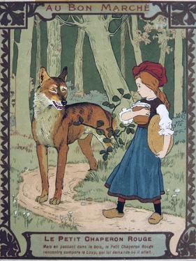 Litttle Red Riding Hood, 19th Century