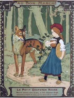 Litttle Red Riding Hood, 19th Century