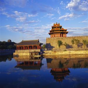 Corner Tower of Forbidden City by Liu Liqun