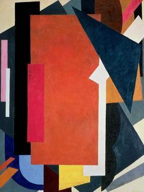 Painterly Architectonics, 1916-17 by Liubov Sergeevna Popova