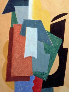 Summer, 1917-18 by Liubov Sergeevna Popova