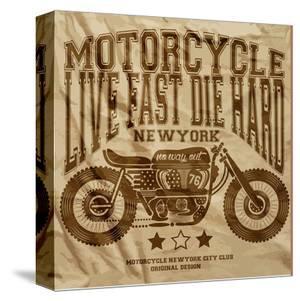 Live Fast Die Hard -Motorcycle